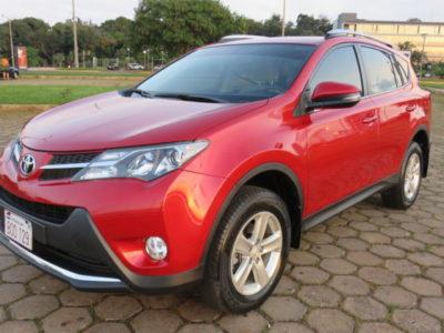 Toyota Rav4 Rojo